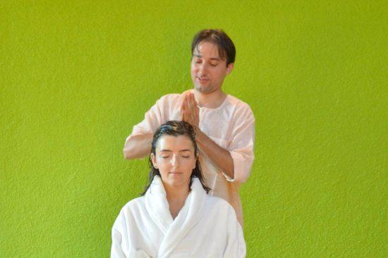 Ayurveda Batra Kopfmassage